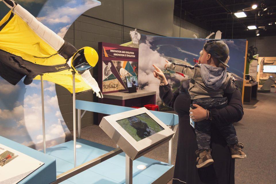 extreme sports exhibit