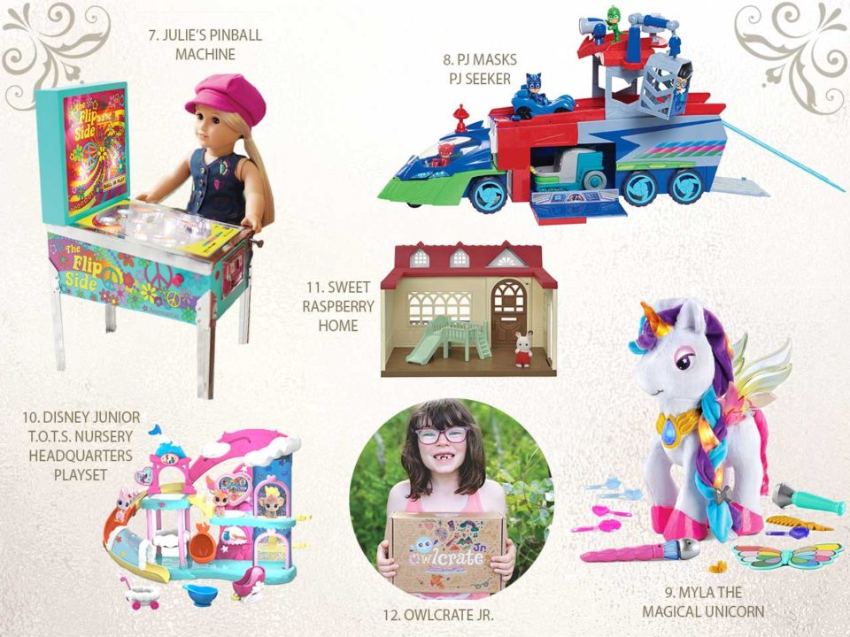NAPPA gift guide presents children