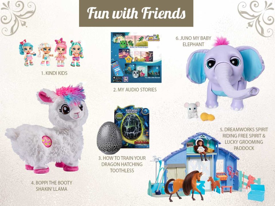 NAPPA toys presents holiday gift kids