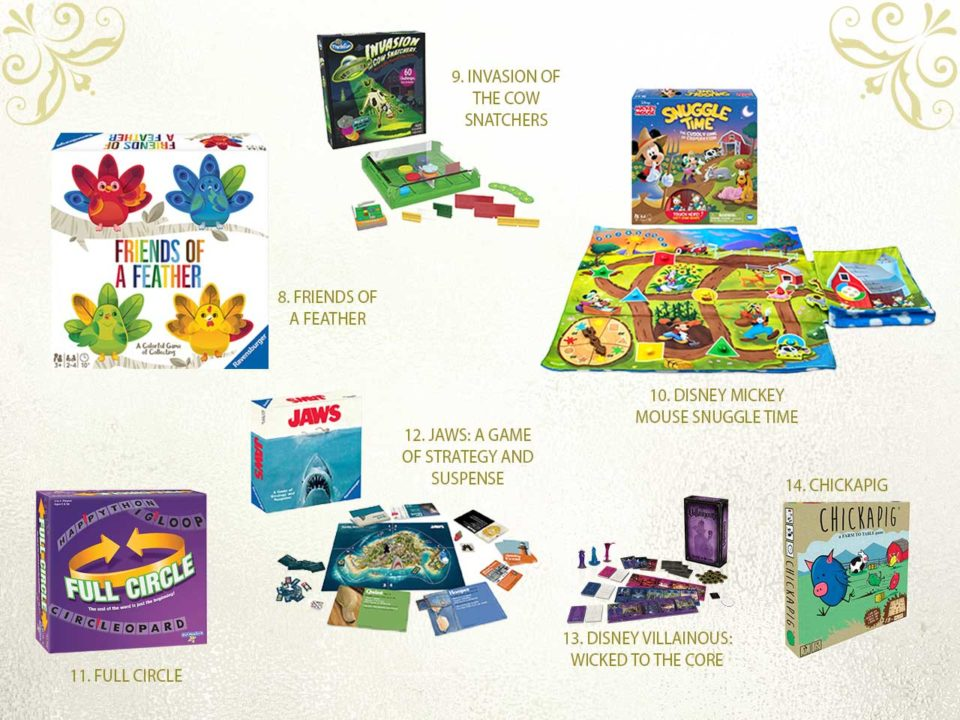 NAPPA family games holiday gifts presents kids