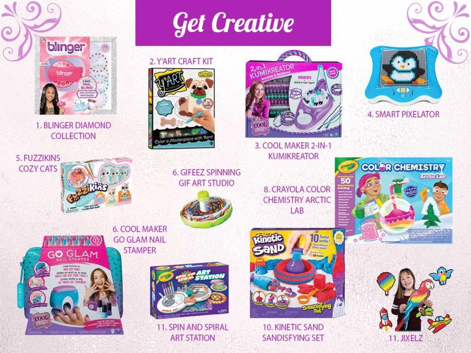 NAPPA creative gifts presents holiday