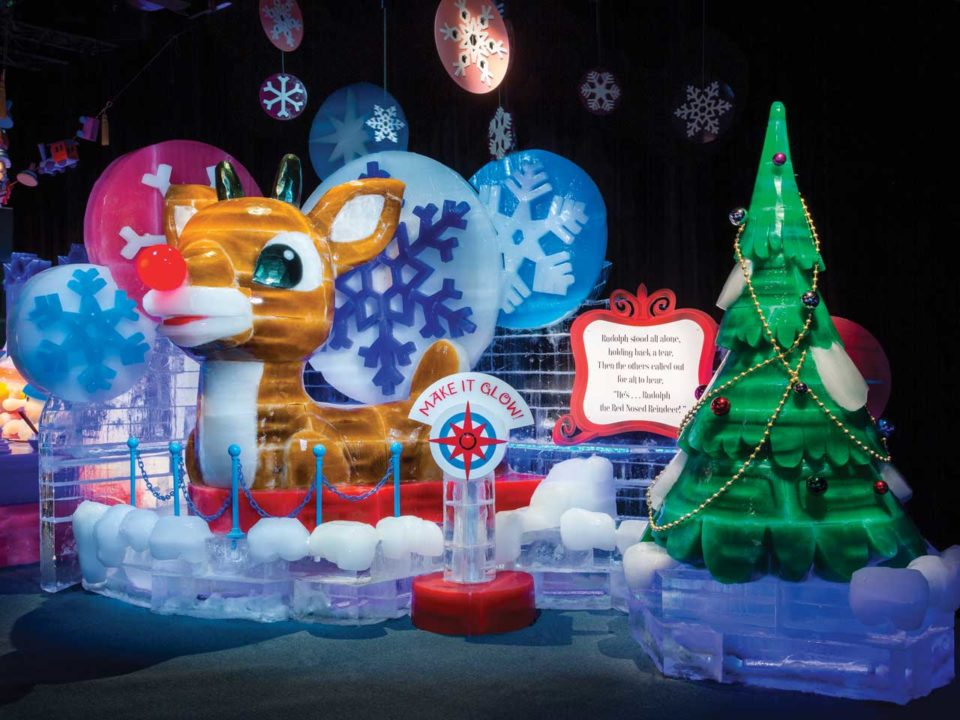 Gaylord of the Rockies ICE Rudolph holidays