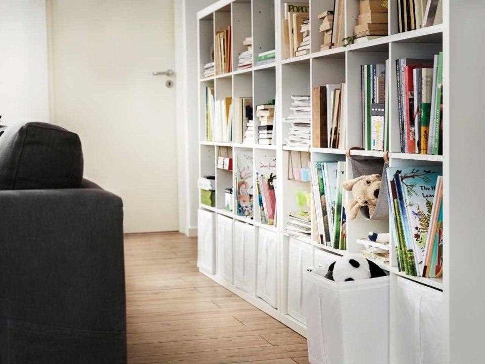 Ikea Kallax cube storage