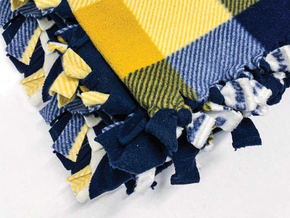 hygge tie blanket