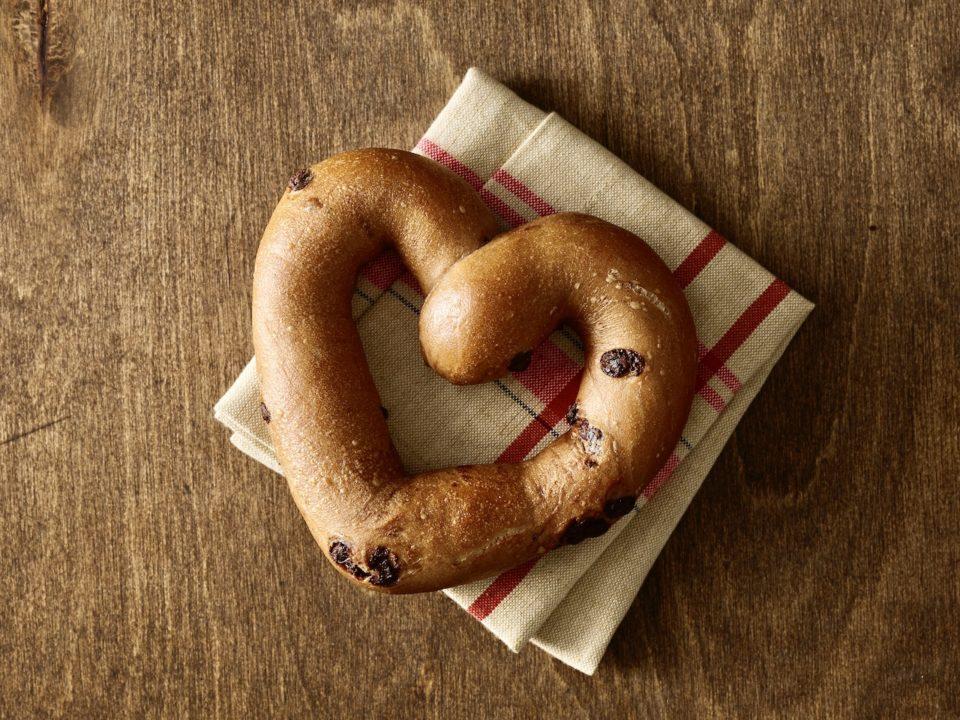 heart bagel