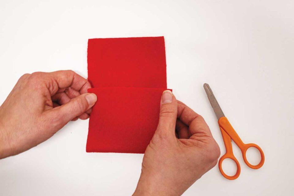felt envelope crafts valentines