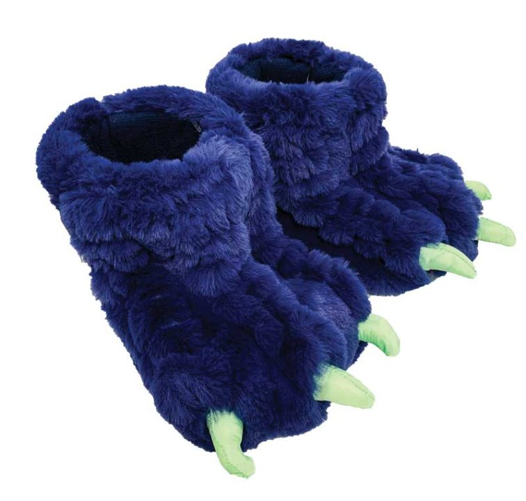 J Crew monster slippers Classic Blue