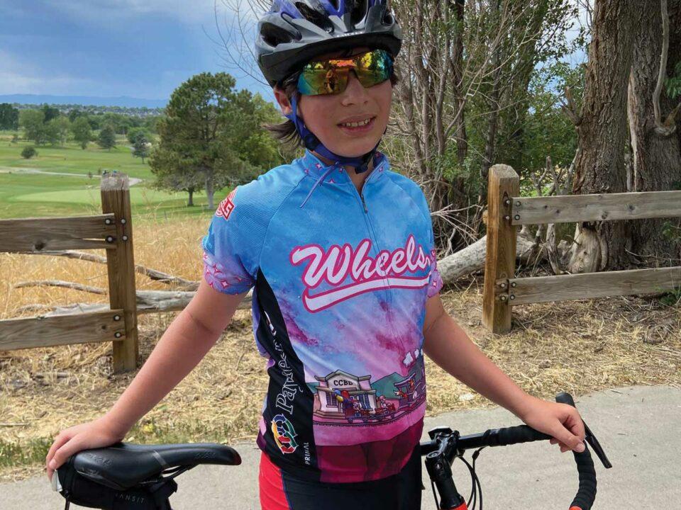 Micah Gruenwald biking