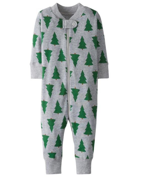 baby holiday pajamas