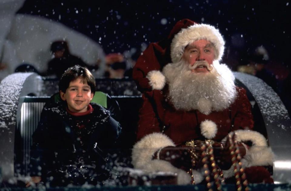 Christmas movies on Disney+