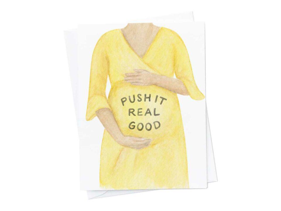 Amy Zhang Push it card