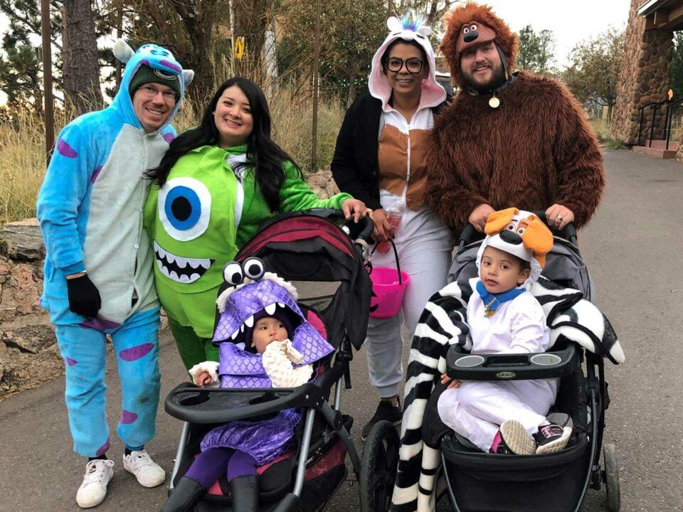Family at Boo at the Zoo